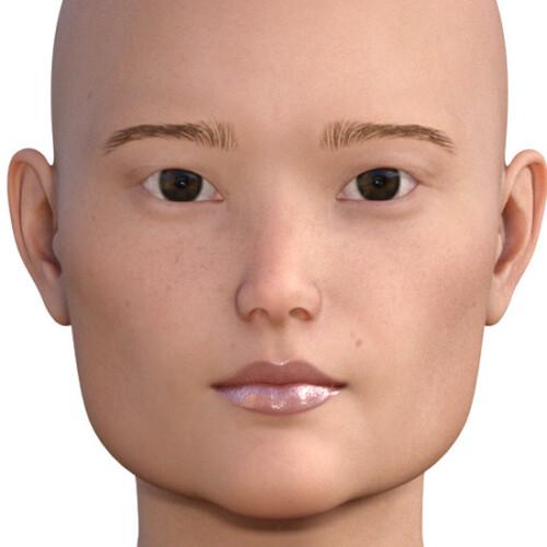 四角い顔 大きい顔0-1