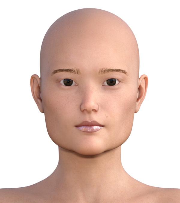 横顔のエラが目立つ人2000-0