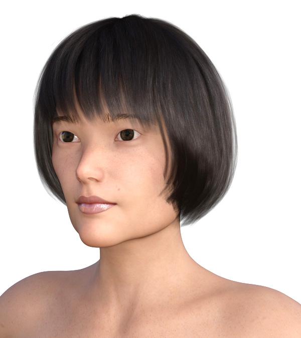 横顔のエラが目立つ2001