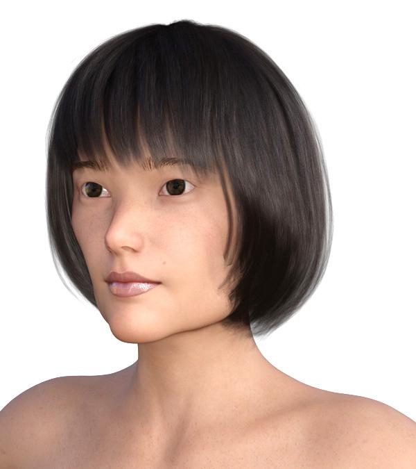 横顔のエラが目立つ2003