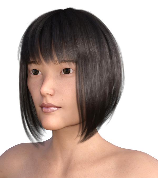 横顔のエラが目立つ2005