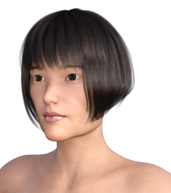 横顔のエラが目立つ2007